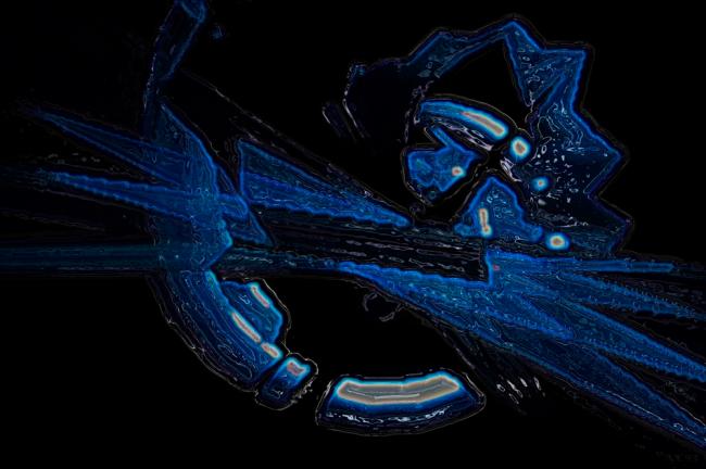 Blauer Kosmos