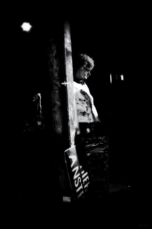 """""""Clowns weinen keine Traenen"""" Fotografie: rue23 Berlin 2013"""
